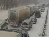 Сильнейший снегопад в Ростове