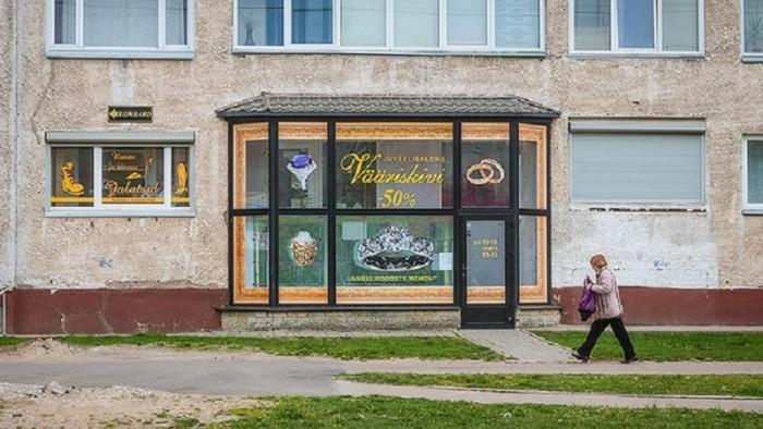 В Нарве ограбили ювелирный магазин