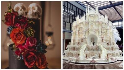 25 потрясающих тортов на свадьбу от кондитеров-волшебников