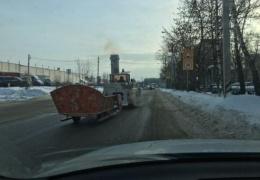 Необычный транспорт на нашей дороге