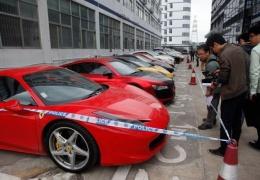 Конфискованные авто арестованных стрит-рейсеров