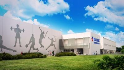 В Ласнамяэ началось строительство теннисного центра стоимостью 10 млн евро