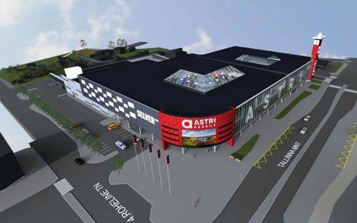 Торговый центр Astri-Narva станет самым большим в Ида-Вирумаа