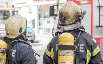 В Нарве при пожаре погиб мужчина