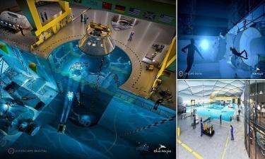 В Великобритании построят самый глубокий бассейн в мире
