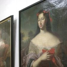 В Нарве открылась выставка портретов царской династии Романовых и великих деятелей города