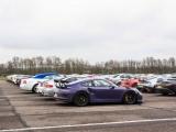 На полигоне в Великобритании собралось 300 суперкаров общей стоимостью более ?75 млн