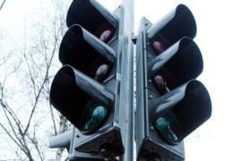 В Нарве на перекрестке Калда - Герасимова - Йоала до весны отключили светофоры