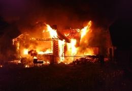 В четверг в Нарве сгорела дача