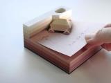 Произведение искусства из блокнота
