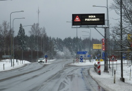 В систему дорожных знаков с 1 марта внесли сотню изменений