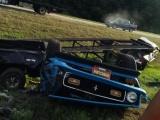 Восстановленный классический Ford Mustang не доехал до своего нового владельца буквально несколько километров