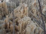 Водопад в Валасте укрылся ледяной коркой