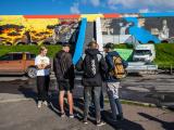 ФОТО: раскрашенные стены Горхолла попробовали отмыть