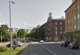 В Нарве реконструируют перекресток улиц Малми и Пушкина