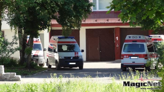 В Нарве 18-летний водитель наехал на пешехода