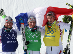 Весь пьедестал в олимпийском ски-кроссе достался французам