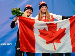 Золото сочинской Олимпиады в бобслее досталось канадкам