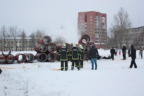 Второй раз за три месяца в Нарве пылали трубы