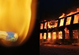 Старшеклассник из Новосибирской области не захотел идти в школу и сжег ее