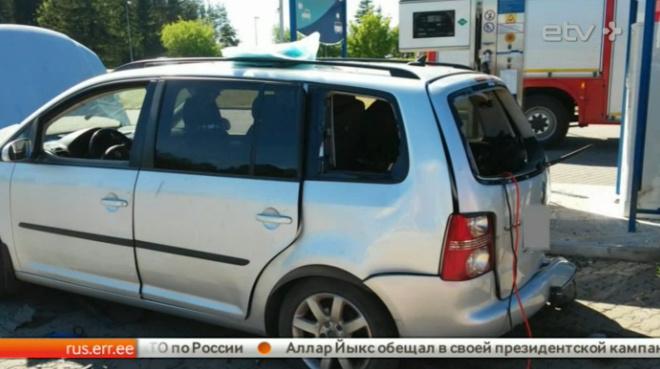 Последствия взрыва на газозаправочной станции под Нарвой устраняли больше суток