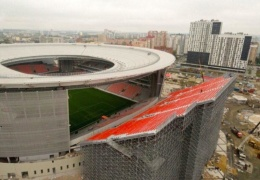 Странные трибуны стадиона ЧМ-2018 в Екатеринбурге развеселили интернет
