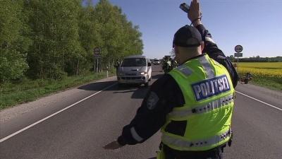 """Во время рейда """"Дуют все"""" в Ида-Вирумаа попались 13 водителей"""