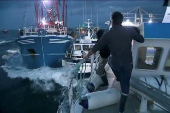 В устье Сены не утихает конфликт британских и французских рыбаков