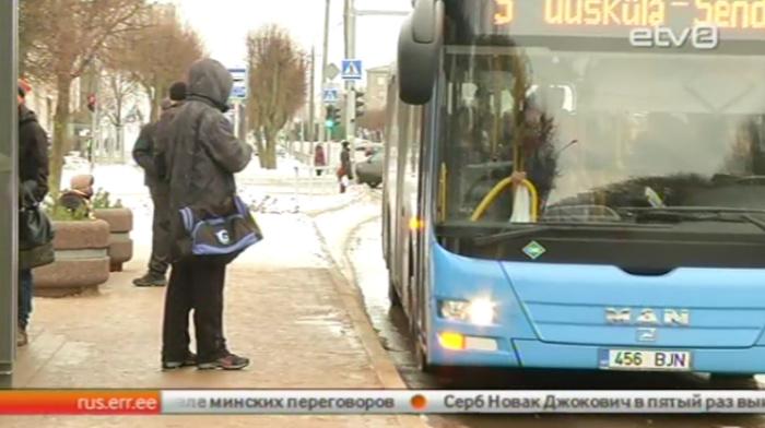 Нарва ищет нового оператора пассажирских перевозок