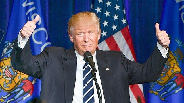 Трамп произнес победную речь, наполненную обещаниями о возрождении США