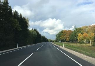 Два отрезка шоссе Таллинн-Нарва попали в десятку самых ровных дорог Эстонии
