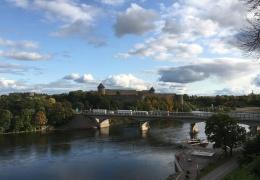 """На мосту """"Дружба"""" в Нарве начинается ремонт, время прохождения границы увеличится"""
