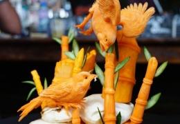 Скульптуры из тыквы: не только на Хэллоуин!