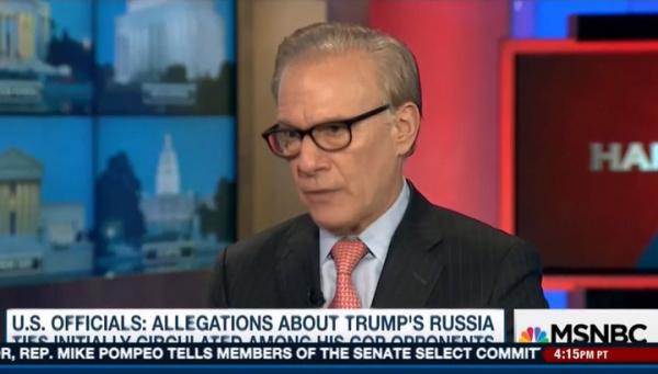 Американский журналист зациклился на России в телеэфире