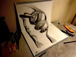 Новые 3D-рисунки Нагаи Хидеюки
