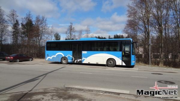 На общественный транспорт в Нарве снова не хватает денег