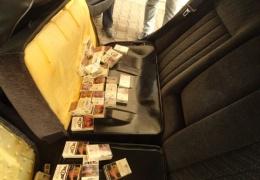 Жителя Нарвы поймали в Ивангороде на контрабанде сигарет