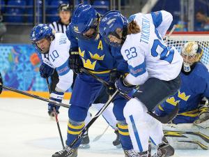 Шведские хоккеистки вышли в полуфинал олимпийского турнира