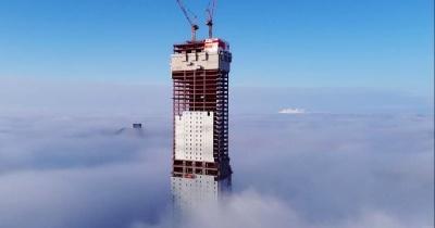 Абу-Даби Плаза — крупнейший небоскрёб Средней Азии, который возводят в Казахстане