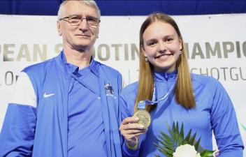 Нарвитянка Катрин Смирнова выиграла золотую медаль на юниорском чемпионате Европы