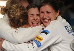 Эстонские шпажистки после 20-летнего перерыва выступят на Олимпиаде