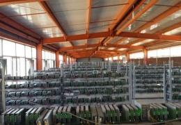 Bitcoin-ферма в Китае, одна из крупнейших в мире