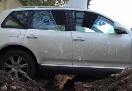 Строители наказали водителя