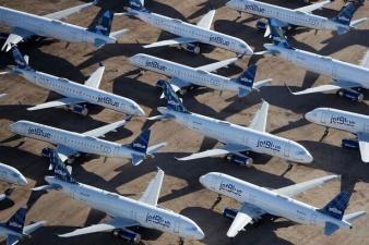 """""""Кладбище самолетов"""" в Аризоне серьезно пополнилось из-за коронавируса"""
