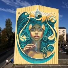 Художник путешествует по Европе и превращает скучные здания в интересные