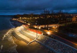 В Силламяэ завершено строительство морского променада