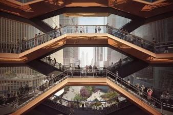 Грандиозная лестница, ведущая в никуда: в Нью-Йорке появилась новая достопримечательность