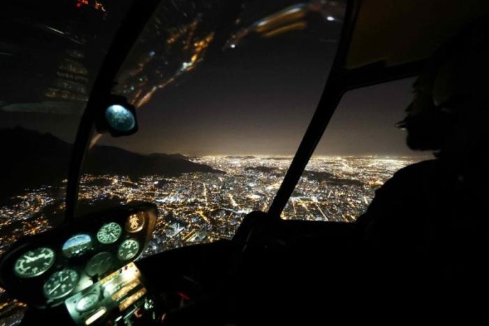 Олимпийский Рио-де-Жанейро ночью