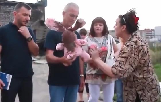 ОБСЕ в разбитом Луганске
