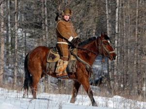 Премьер-министр России Владимир Путин в Хакасии